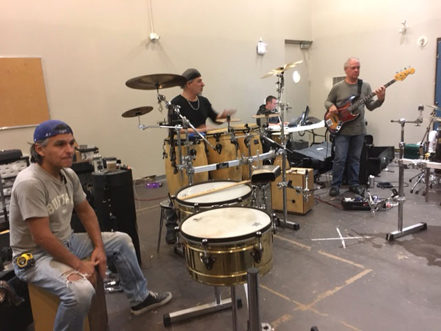 Manteca: rehearsal for the Twelfth of Never show